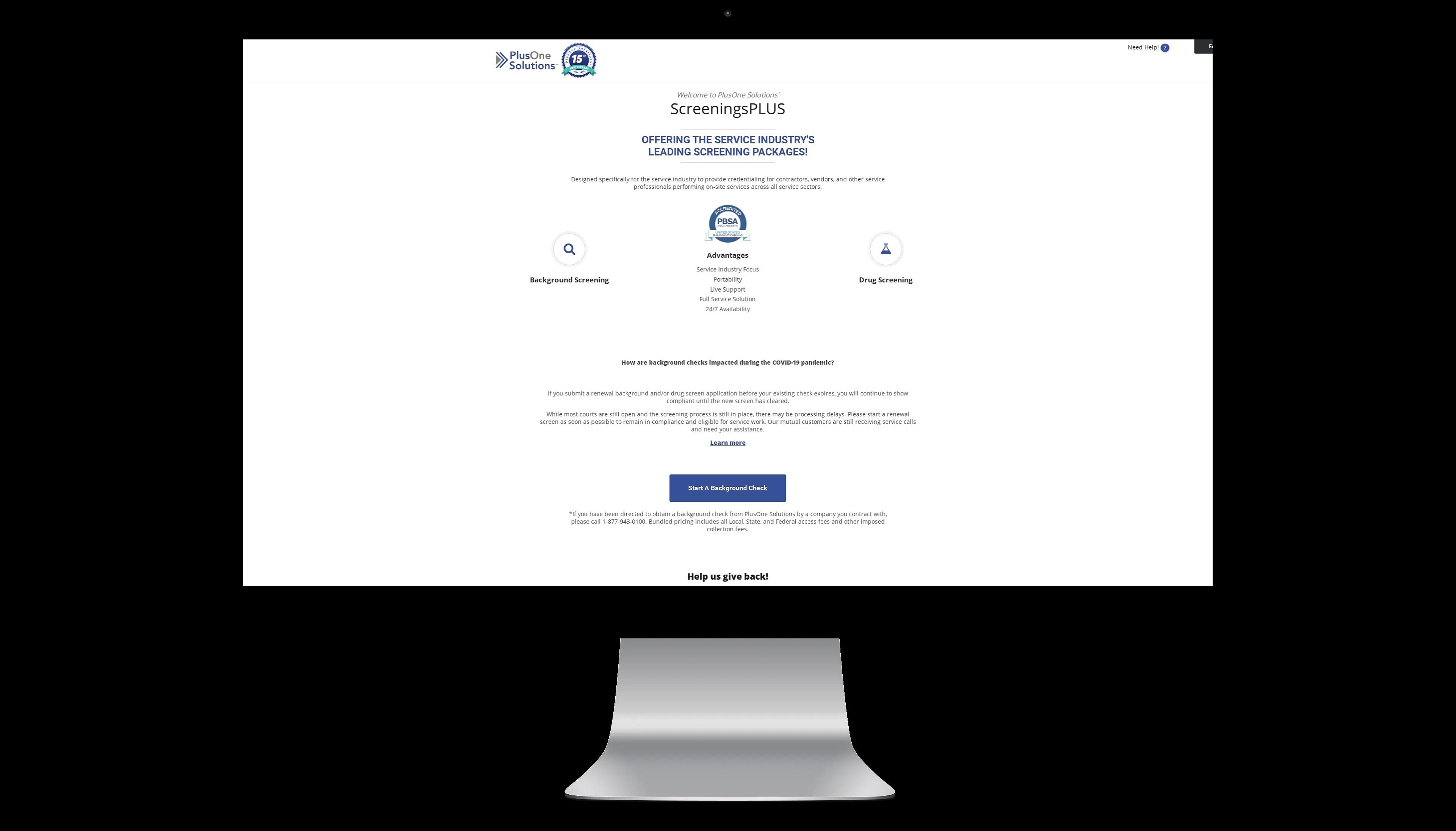 ScreeningsPlus portal